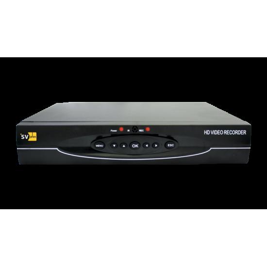 4-канальный AHD-H мультирежимный видеорегистратор R804