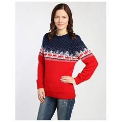 Новогодний свитер с оленями (женский)
